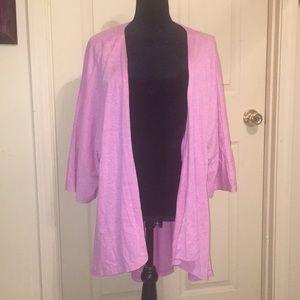 Women's Large Pink Lularoe Shirley Kimono